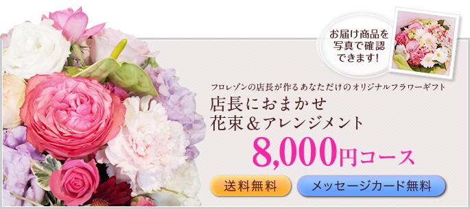 8000円おまかせ