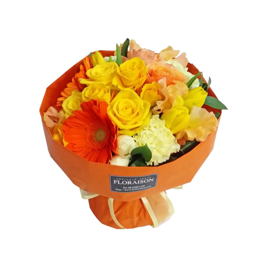誕生日祝いにおすすめの花瓶がいらない花束スタンディングブーケ