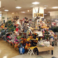 愛媛県今治市にある花屋新鮮市場 花屋百太郎今治店