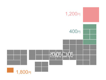 大阪吹田の花屋フロレゾンの送料・箱代について