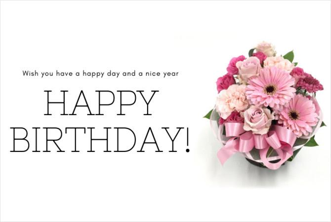 誕生日祝いの花束・フラワーアレンジなら江坂の花屋フロレゾンの通信販売