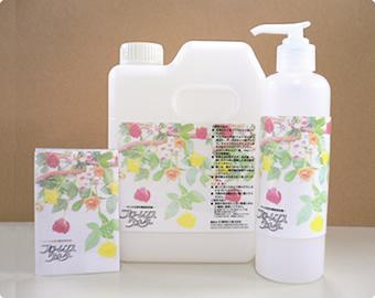 人・花・環境にやさしい切花の鮮度保持剤
